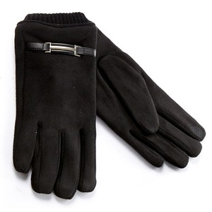Gloves for men Verde 02-453 black